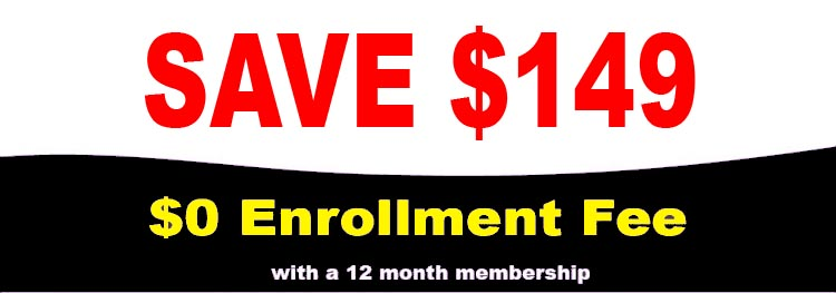 0 dollar enrollment fee image