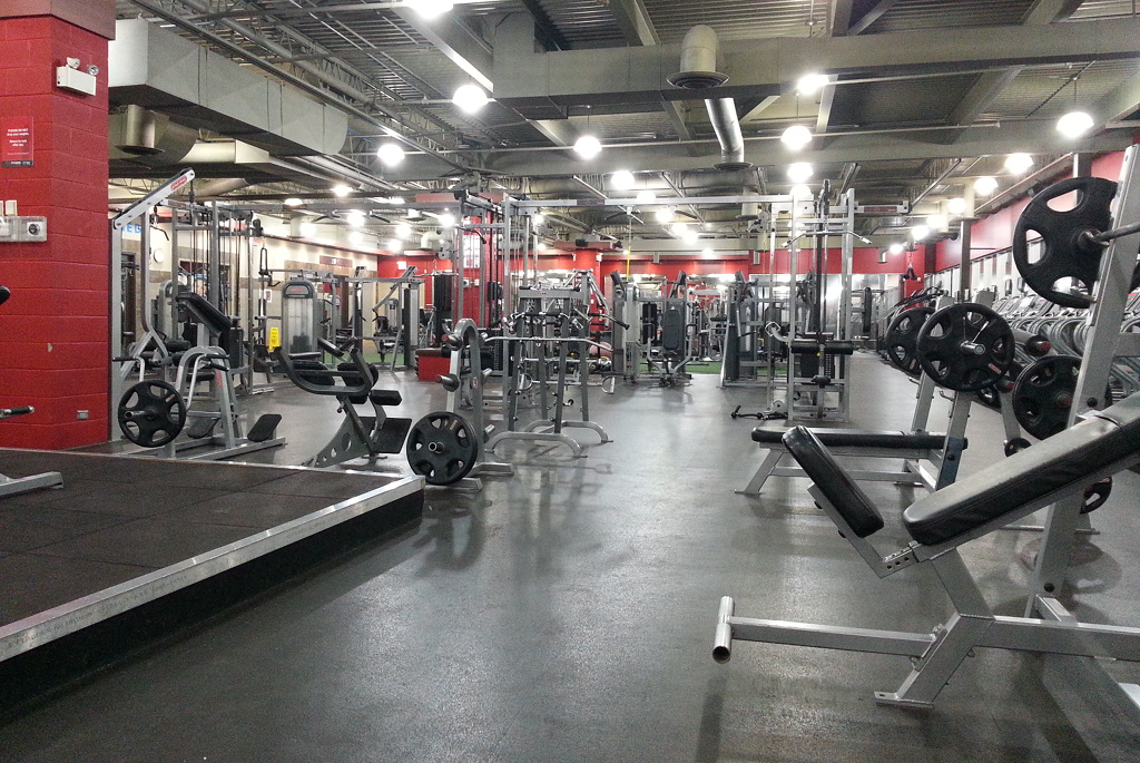 inside fitness club