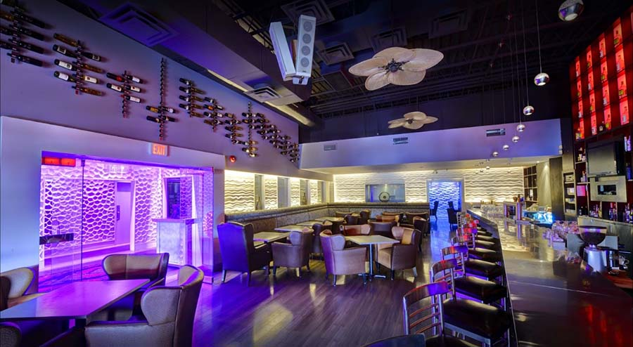The Open Cork bar & lounge area pic