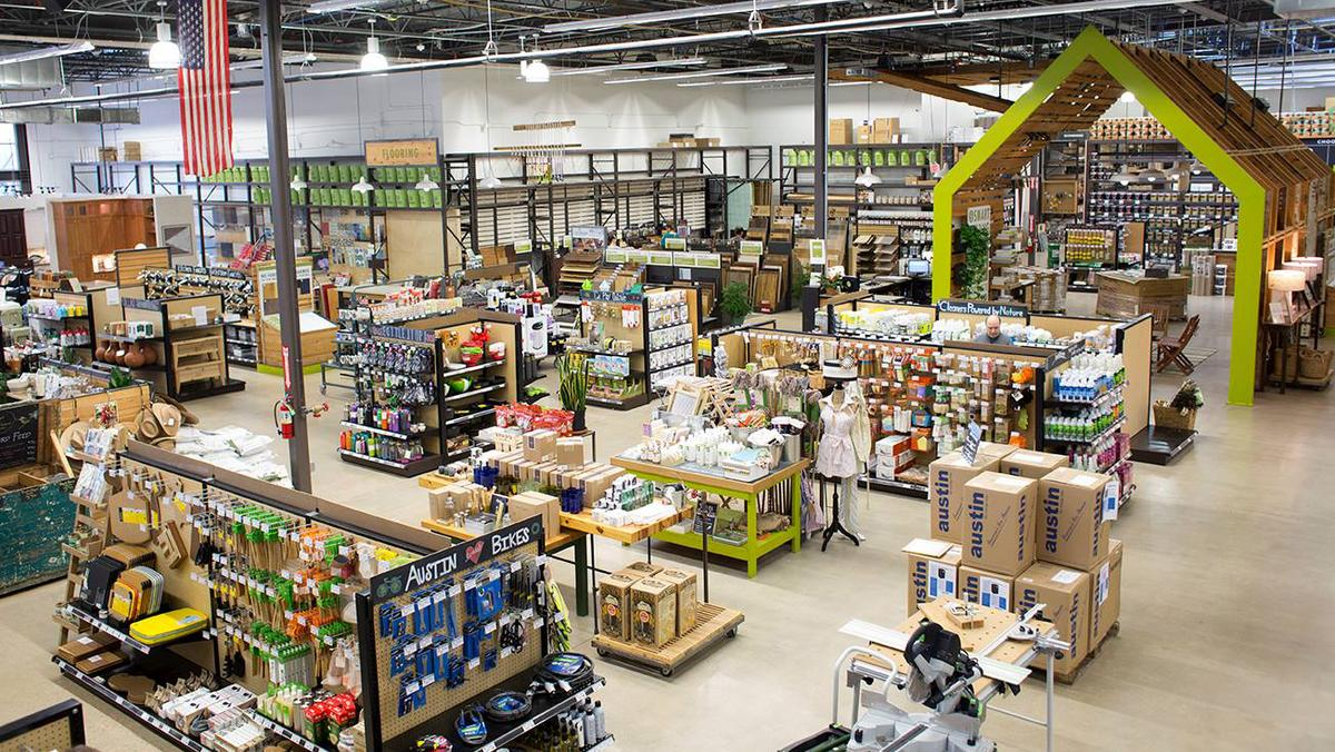 home improvement store inside image