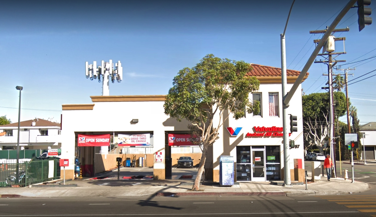Photo of Valvoline Instant Oil Change Santa Monica location outside
