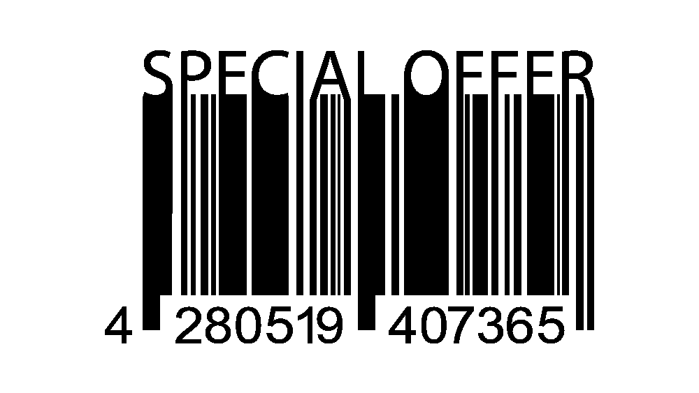 surprise discount barcode image