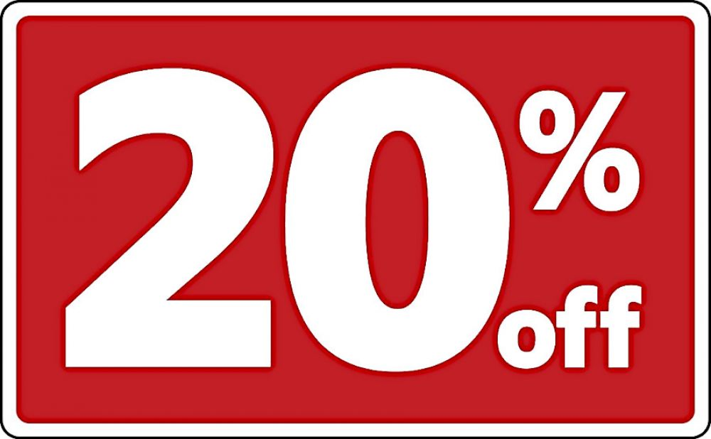 photo of 20% OFF discount on all cannabis, weed, and edibles for new customers only