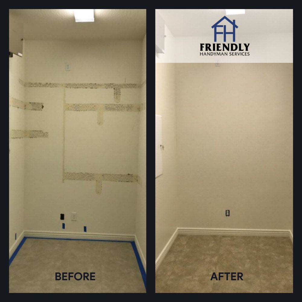 photo of drywall installation and repair job in Ottawa
